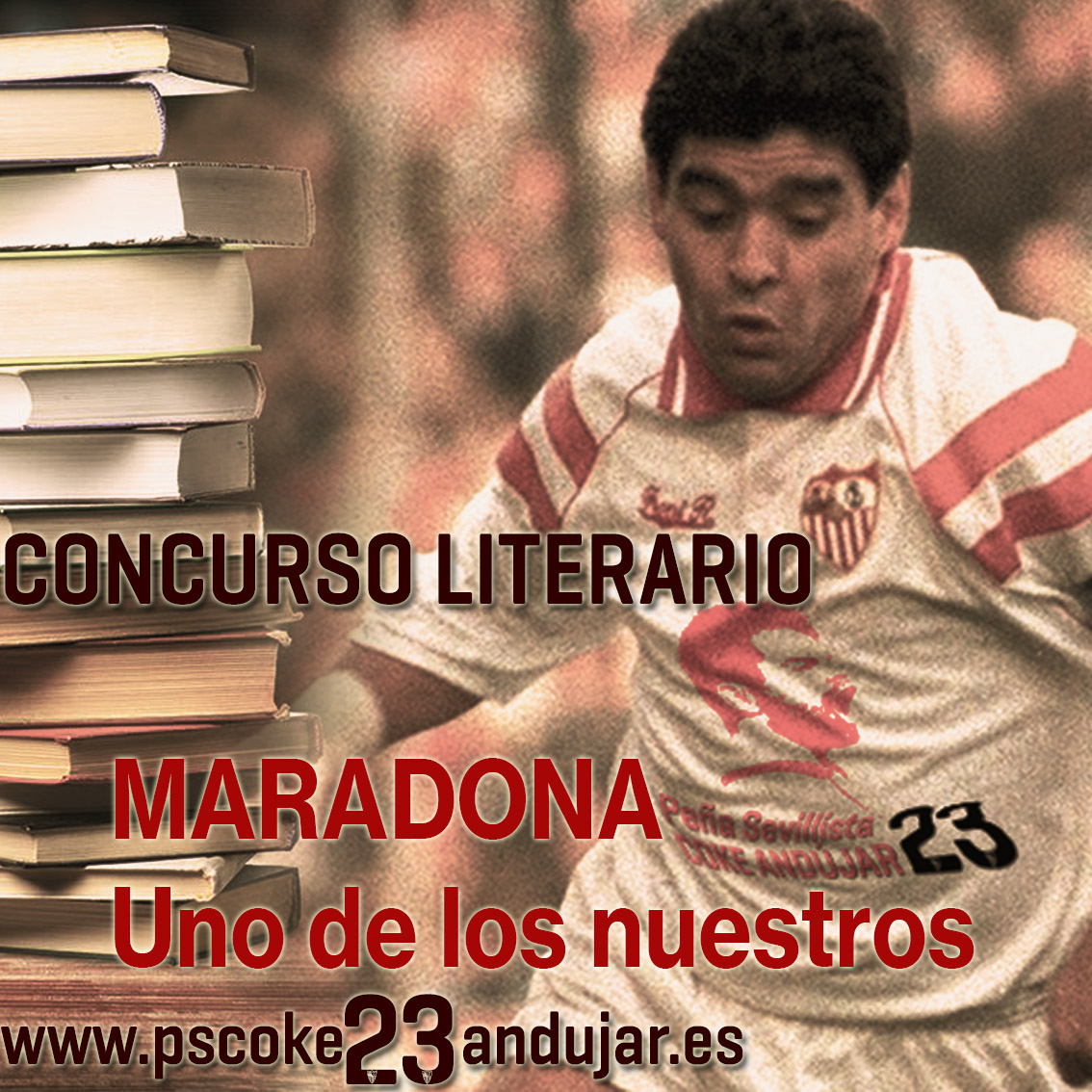 """CONCURSO LITERARIO """"MARADONA, UNO DE LOS NUESTROS"""""""